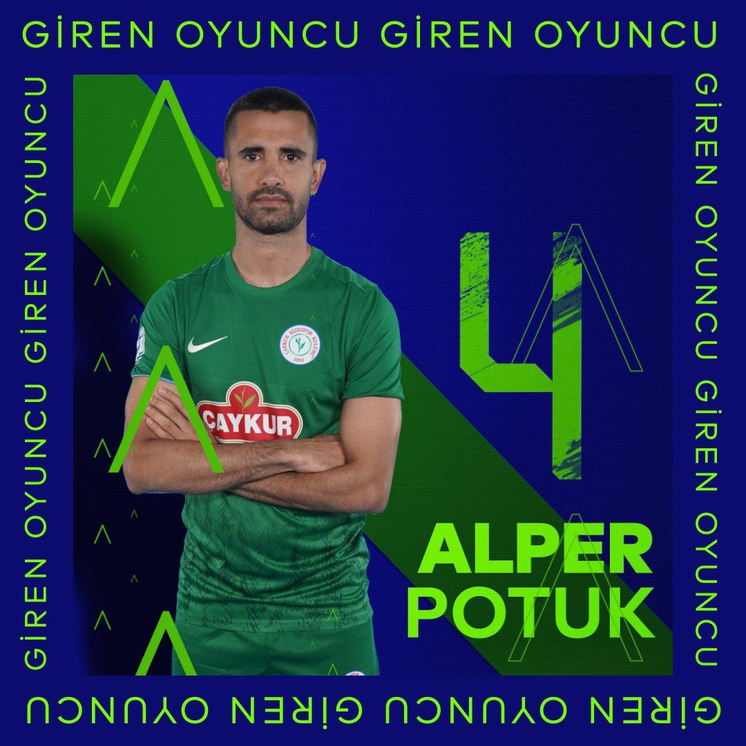 🔃 Takımımızda oyuncu değişikliği  🔽 Djokovic 🔼 Alper  ⏱️ 46'  #ADSvÇRS │ #KalbineYakınTut