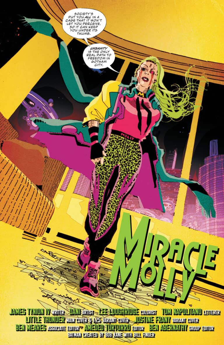 I absolutely fell in love and had a blast lettering Batman Secret Files:Miracle Molly! I'd work with this team forever if I could!