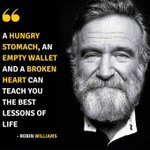 Image for the Tweet beginning: Robin Williams got it right.