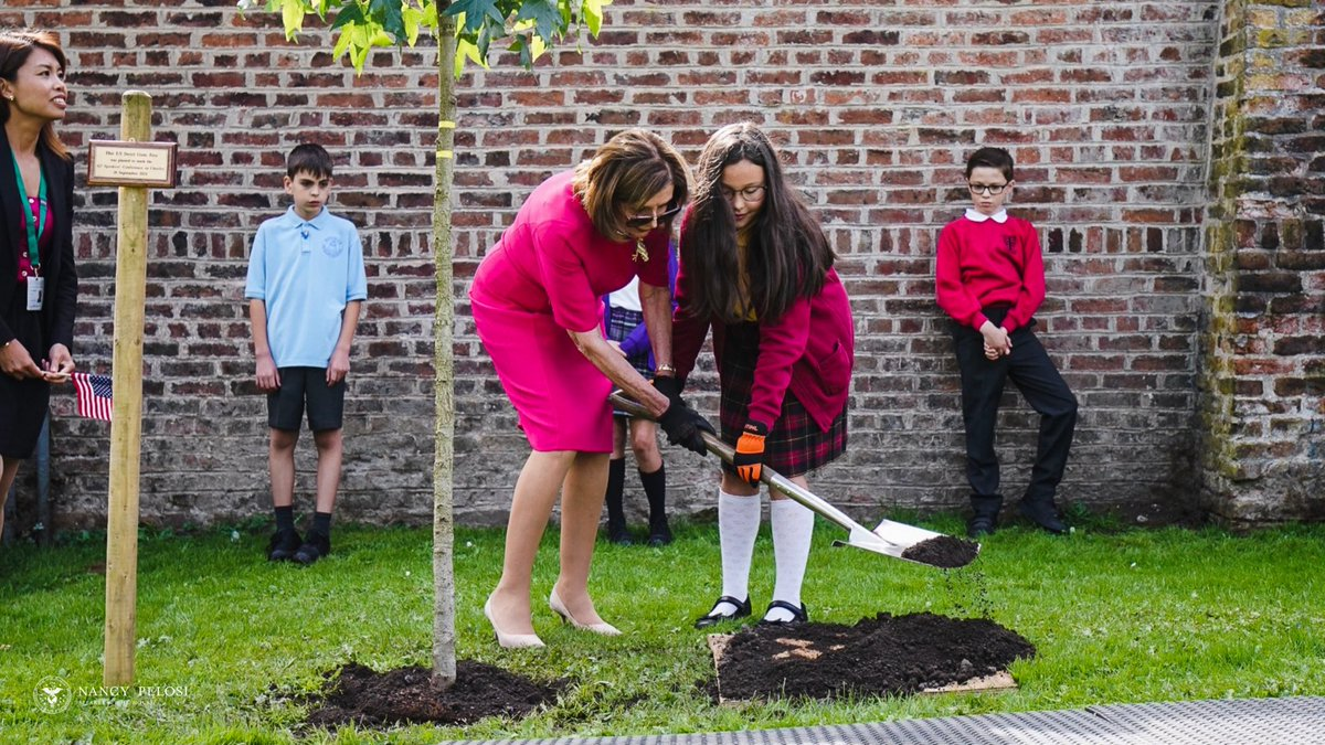 test Twitter Media - It was truly a pleasure to mark the occasion of the @G7 Speakers' Meeting in Chorley, UK by planting  an American Sweet Gum tree at the Astley Hall with 10-year-old Amy today! https://t.co/ZKeAKx28sb