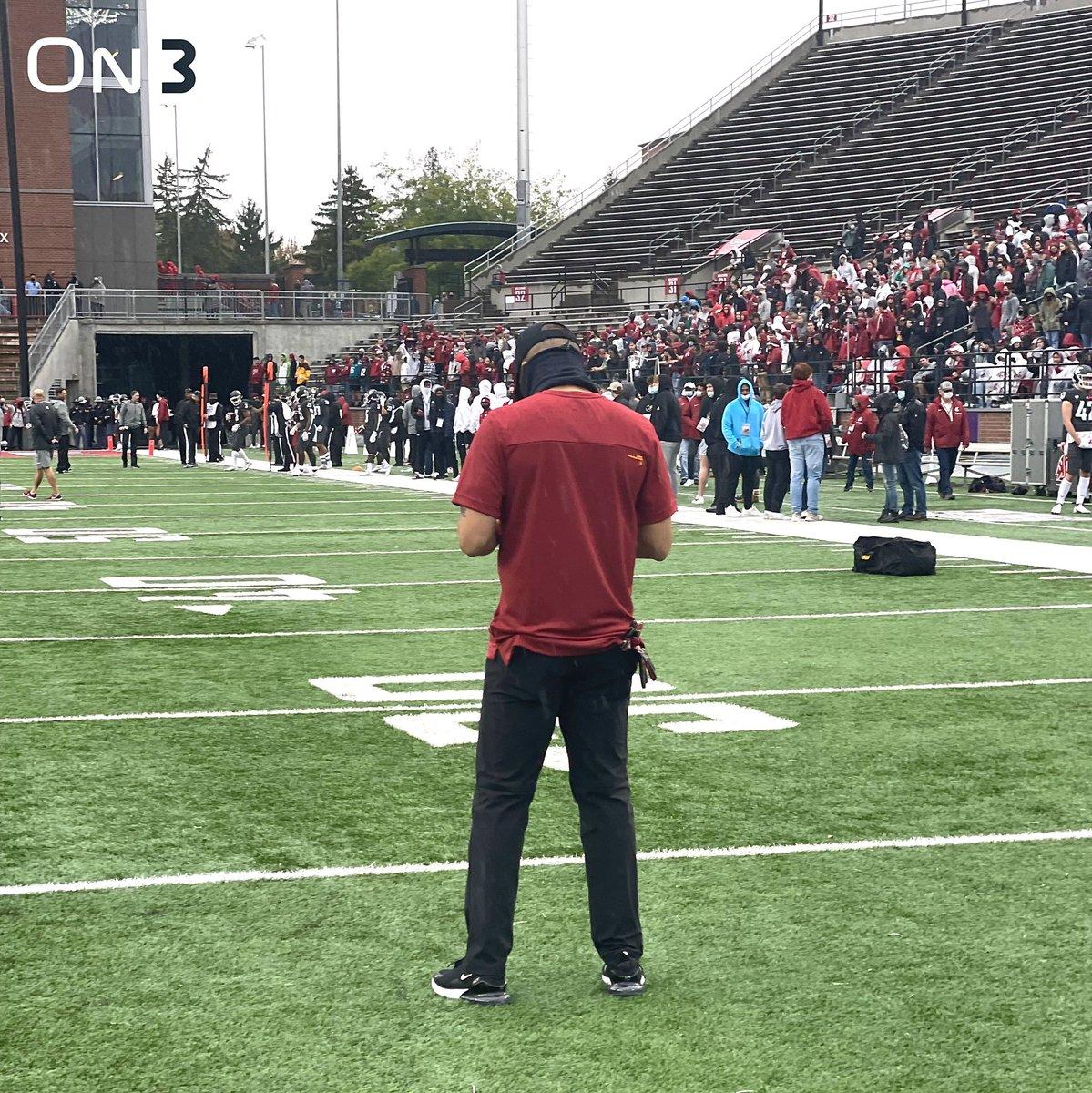 #USC Head Coach DONTE WILLIAMS❕  Trojan Face Wazzu at 12:30pm PT 🏈  📷 @On3USC #FightOn✌🏼
