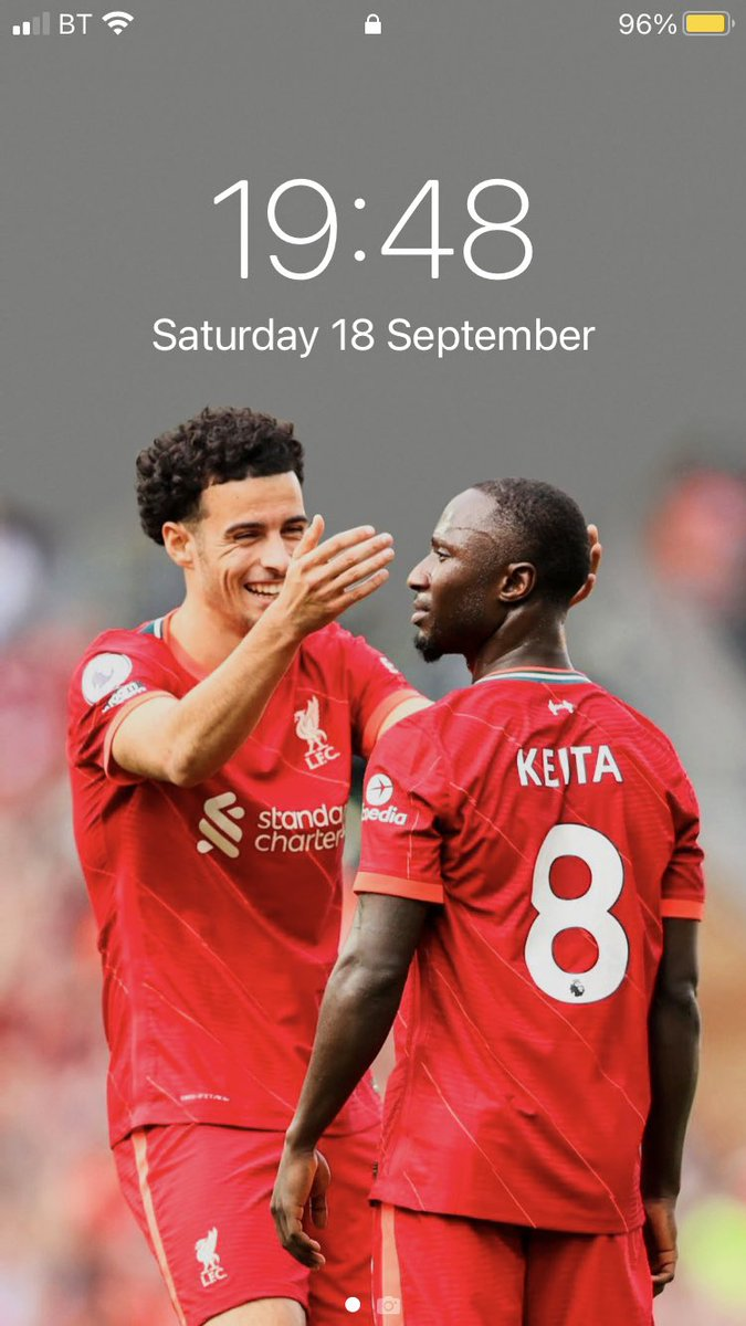 that's my lock screen sorted. #LFC #nabylad