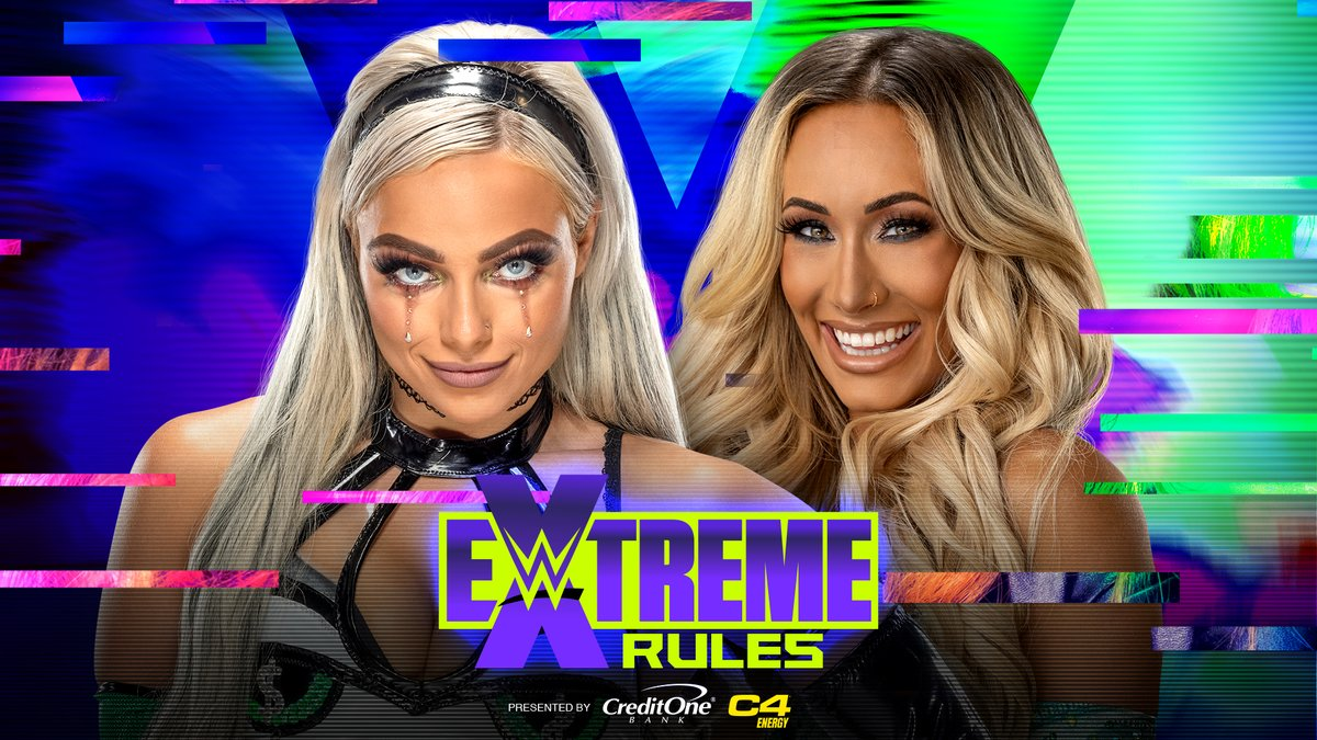 RT @WWEFrance: Match officialisé pour #ExtremeRules!  @YaOnlyLivvOnce @CarmellaWWE https://t.co/8JZ5QFuRic