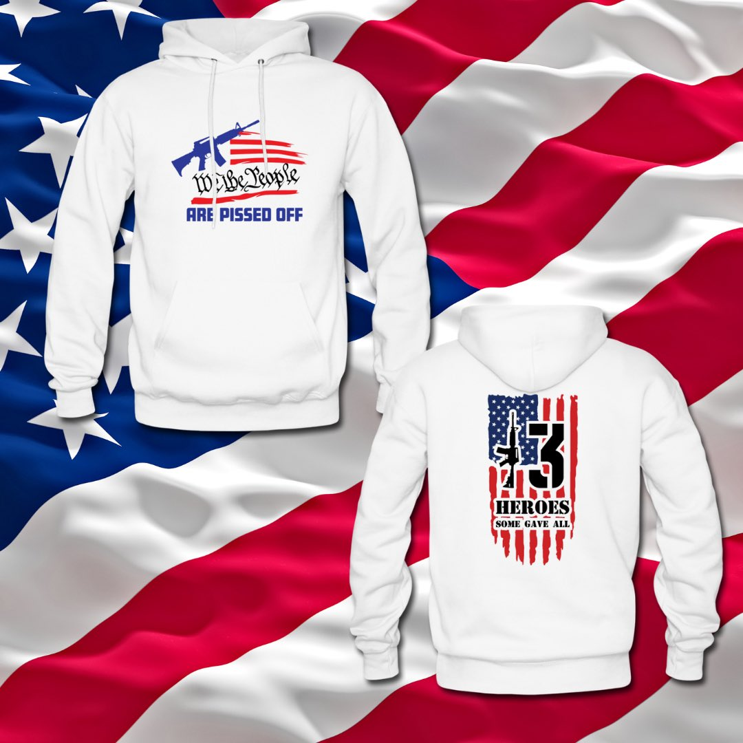 Released some new hoodies today in time for wife and Gf #hoodieseason #911Anniversary #NeverForget #WeThePeople #AfghanistanHeroes #AfghanistanDisaster #USA #veteranowned