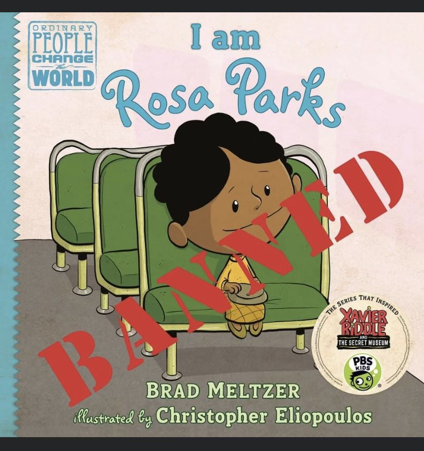 """GOP #CancelCulture hypocrisy 👀's like this: I've read this book MANY times with my girls. It's recently been added to the list of banned books in York, PA. The school board President calls it a """"coincidence"""" that all books banned are about People of Color."""
