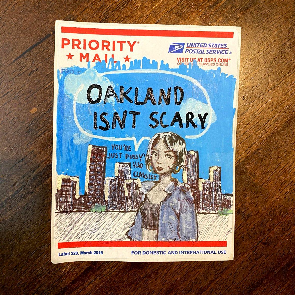old Oakland slap I made a long time ago