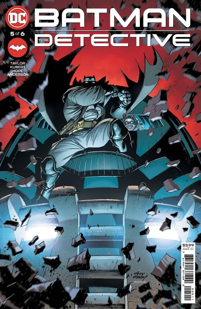 This Tuesday, Alfred saw to it that Batman had a fully equipped mobile Batcave in a Battruck in France. Find out what he can do with it in our #Batman: The Detective #5. #BatmanDay #AndyKubert @inkmonkeyhope @bdanderson13 @Ben_Abernathy