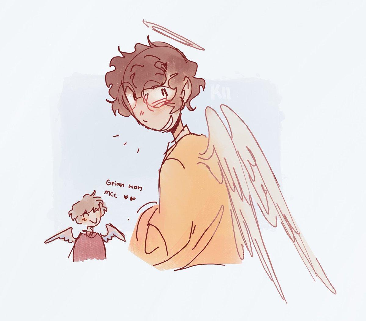 angelbur and small grain ❤️❤️❤️ -Kii