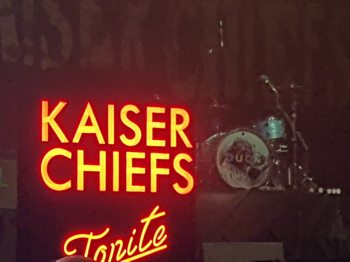 Nearly time 😍 @KaiserChiefs  #iowfestival #cinchxIOW