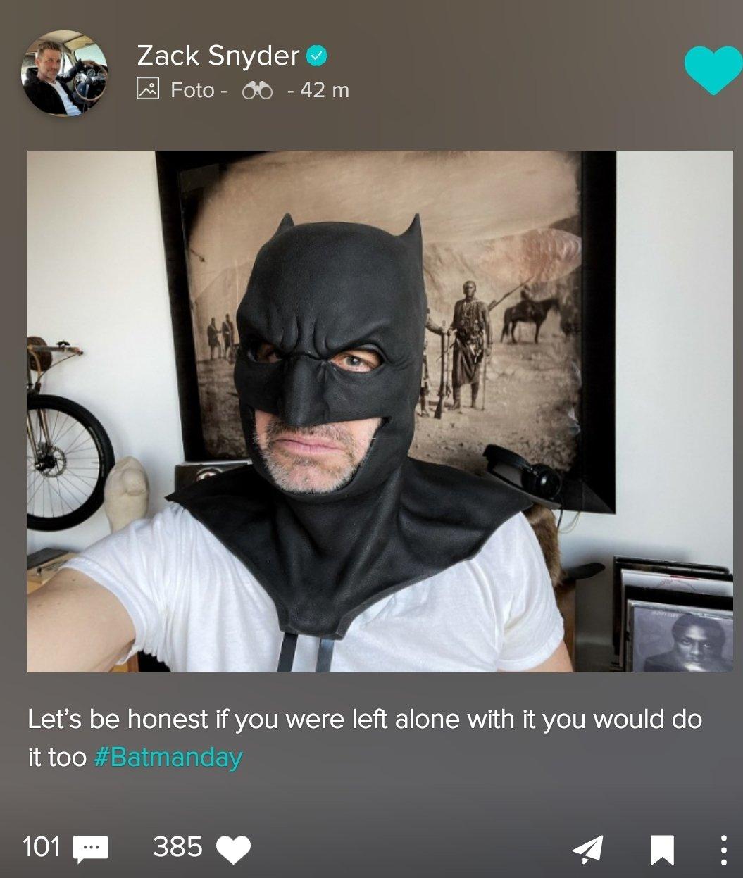 Zack Snyder; Ben Affleck; Batman
