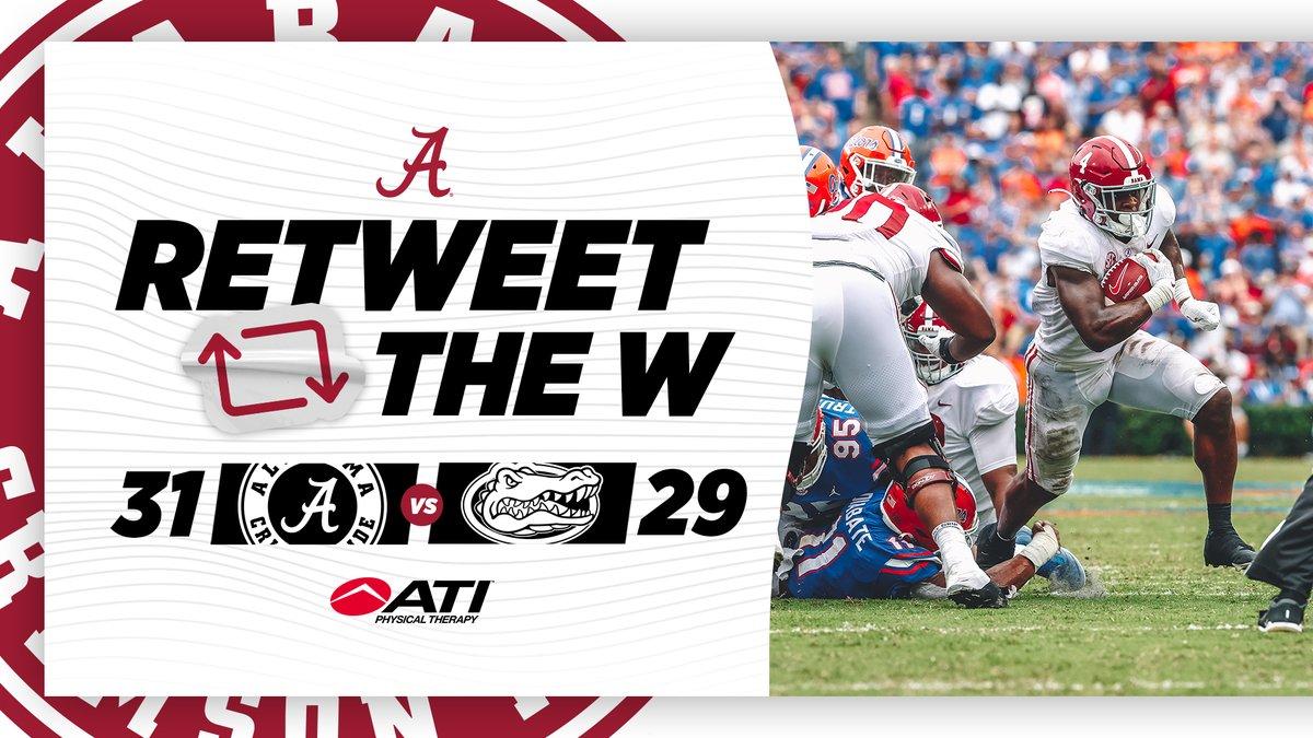 Alabama Athletics on Twitter