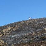Image for the Tweet beginning: Pyramid Lake: #EmigrantFire Northbound &