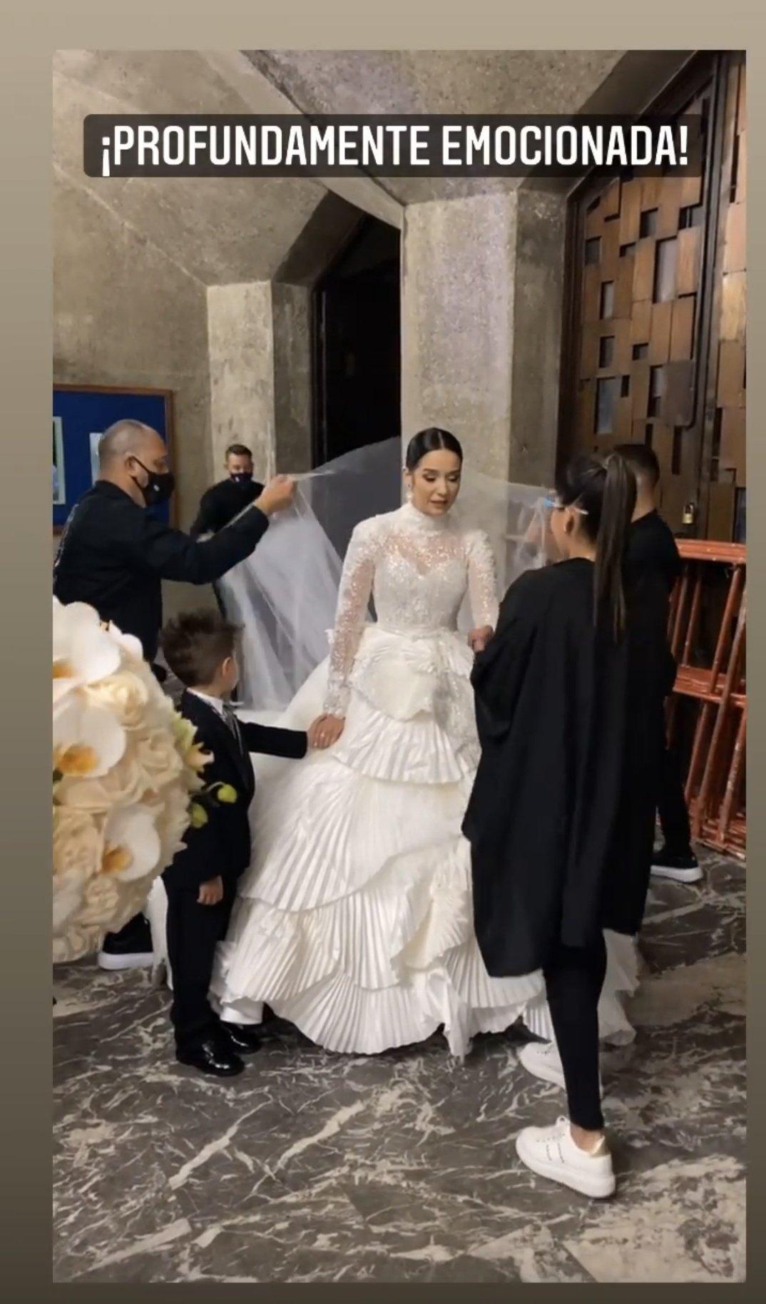 ¡Se casaron! Daniela Alvarado y José Manuel Suárez se dieron el sí