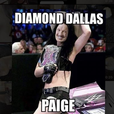 Magazine Confuses Paige With WWE Hall Of Famer Diamond Dallas Page 75