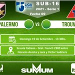 Image for the Tweet beginning: 9A. FECHA CAMPEONATO @LUD_Oficial S16