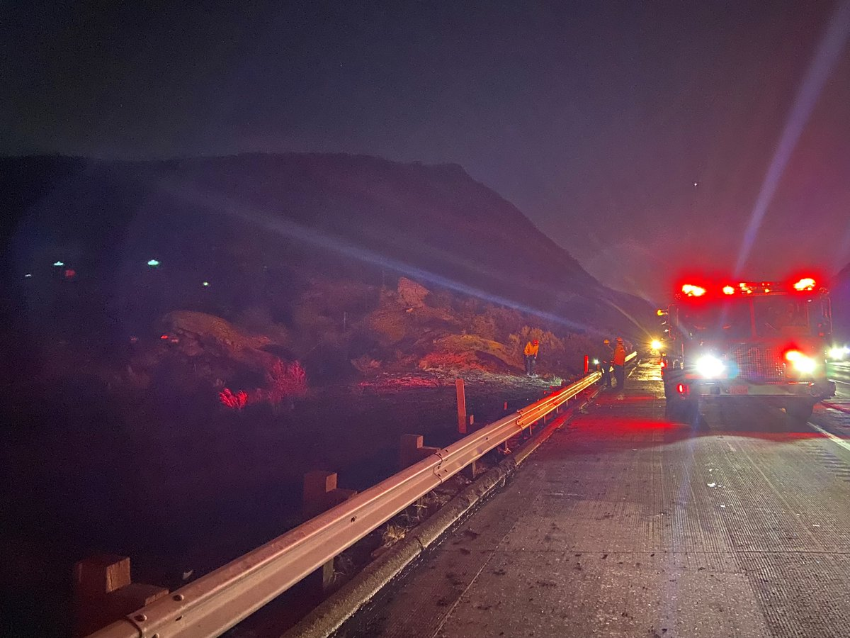 Image posted in Tweet made by Caltrans District 7 on September 19, 2021, 3:04 am UTC