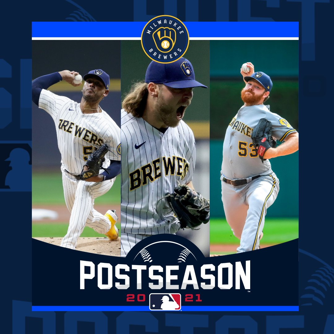 Back-to-back-to-back-to-back! Congratulations to the @Brewers on clinching a fourth-straight trip to the Postseason. #ThisIsMyCrew