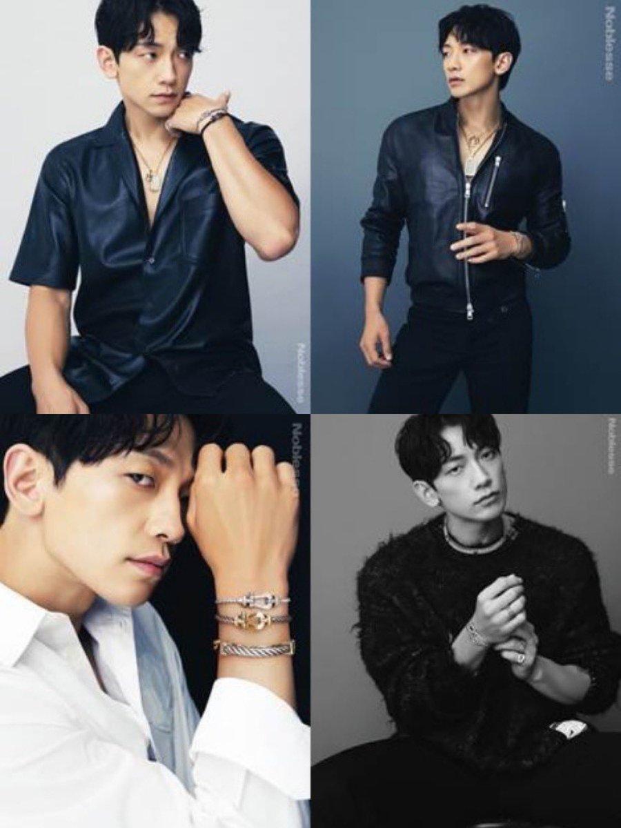 RAIN x FRED for the October issue of Noblesse! 😍  #비 #rain #정지훈 #jungjihoon