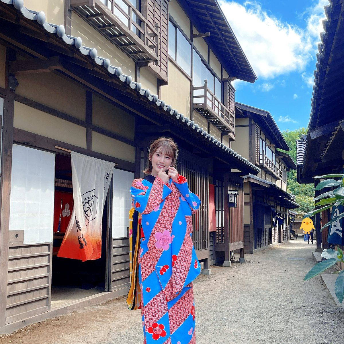 東映太秦映画村にも、撮影に参りました〜✨#京まふ2021