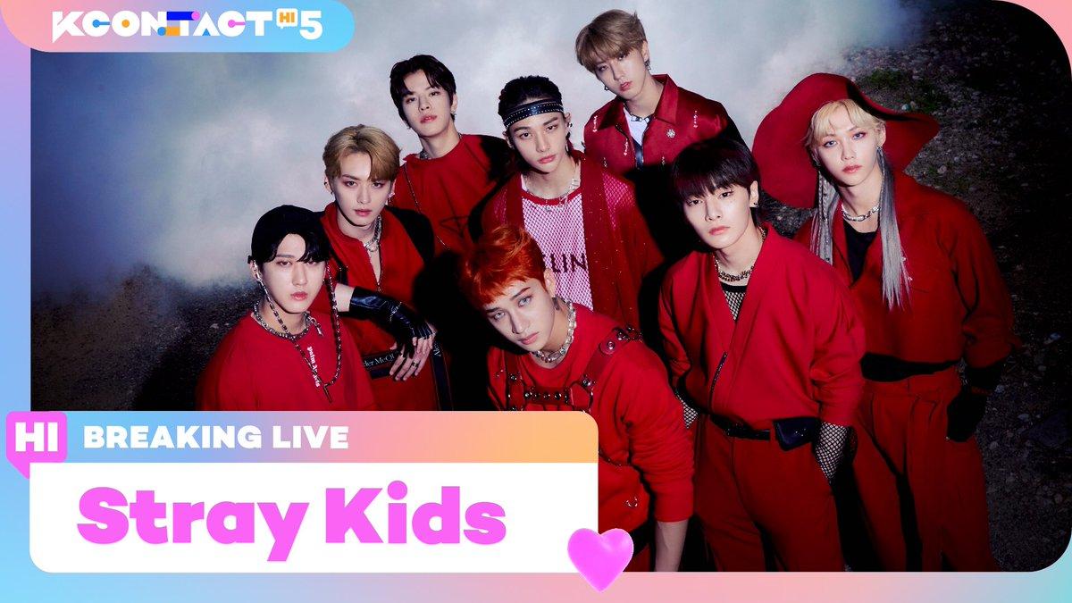 Stray Kids'S BREAKING LIVE WILL START SHORTLYStray Kids의 BREAKING LIVE가 잠시후 찾아옵니다!Stray KidsのBREAKING LIVEがまもなく訪ねてきます!▶ KCON official: ▶ Mnet K-POP: