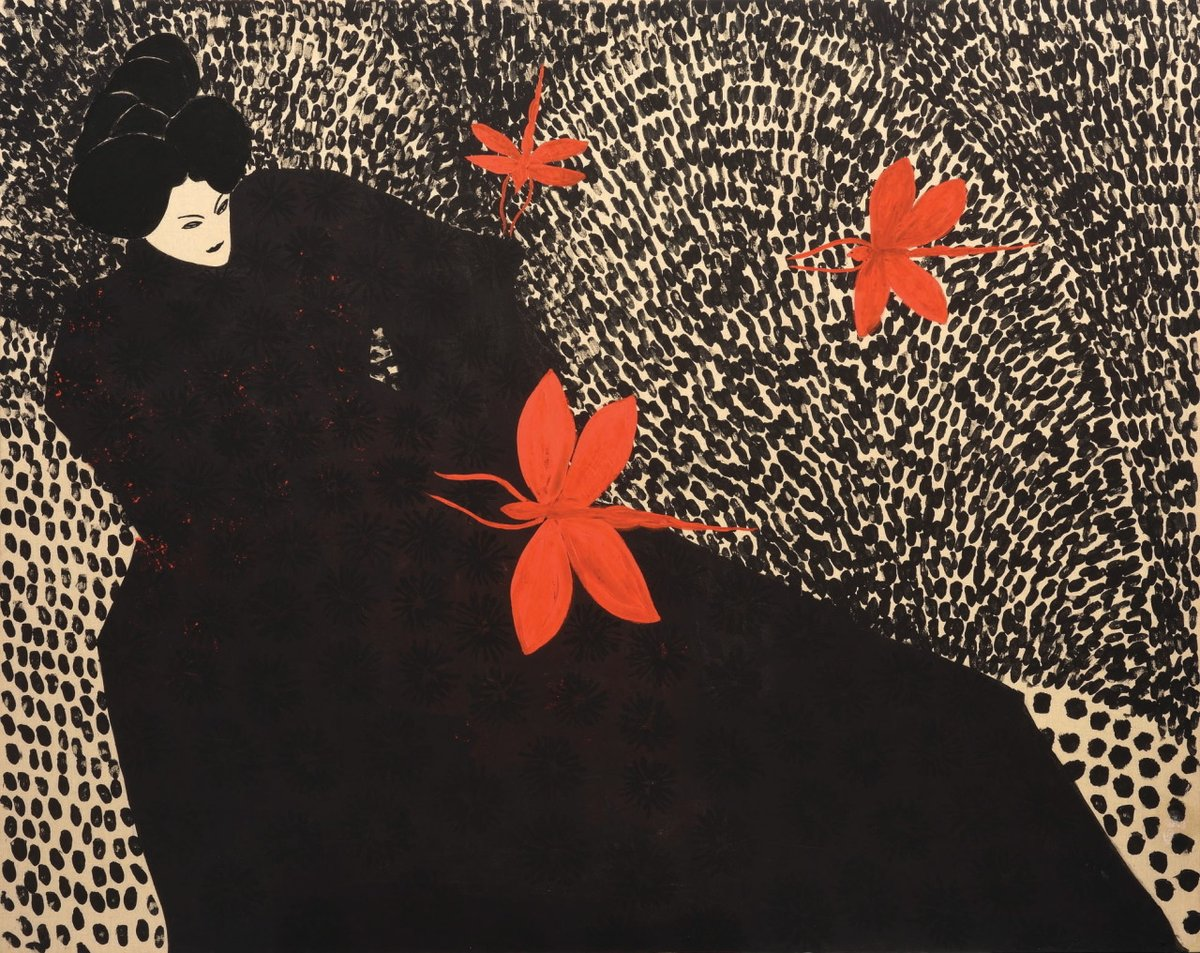 Contemporary Turkish artist Selma Gurbuz, Shadow, 2016 #WomensArt