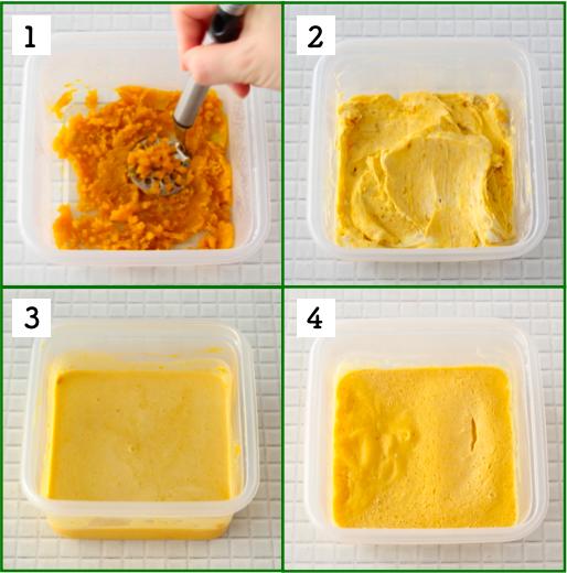 生クリームなしでも濃厚絶品!レンジで簡単「南瓜チーズケーキ」レシピ!