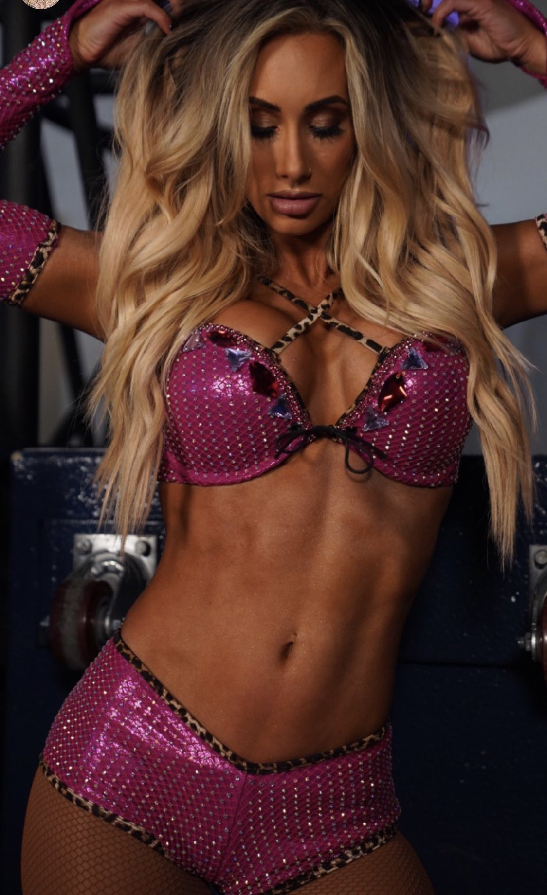 Carmella Shows Off Her Confidence In Latest Hot WWE In-Ring Gear 115