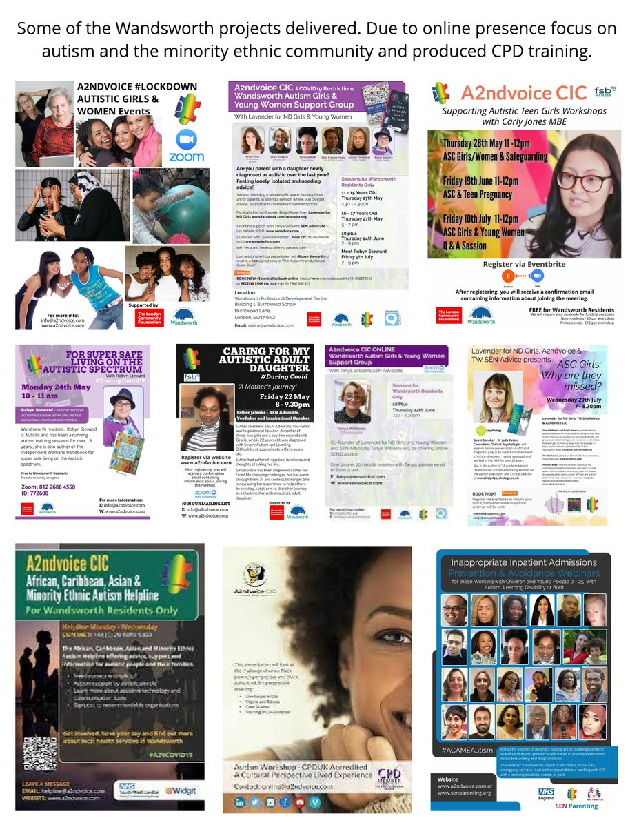 Request to run an Autism Girls and Women conference due to the online sessions we ran last year in @wandbc Keep you posted... @LavenderNDG @TWSENADVICE @robyn_steward @DrJudes03 @SarahJaneCritch @CarlyJonesMBE @maskoffcic @autismslove Esther Jelenke youtu.be/DDXA6t8xWec