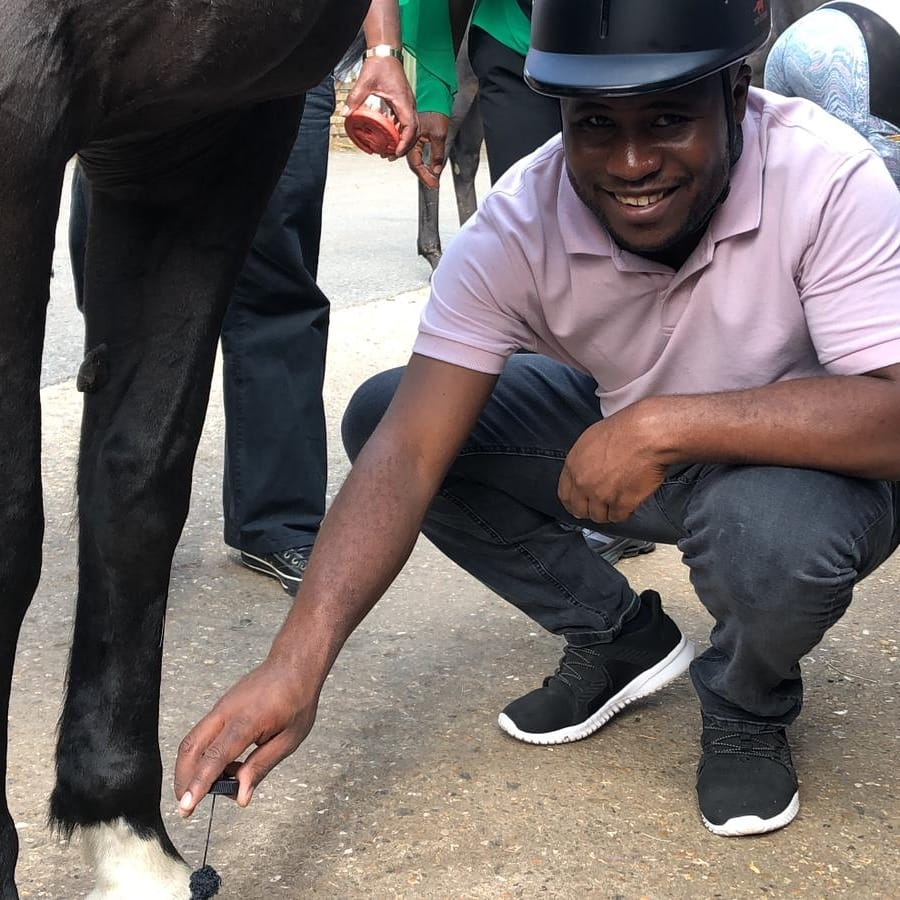 By popular demand we will be hosting more sessions with @CareyKhan7 One with the Horse experience for 5 to 25 years old... More details soon.. Some sessions for @LambethNas only.. small groups for autistic children..