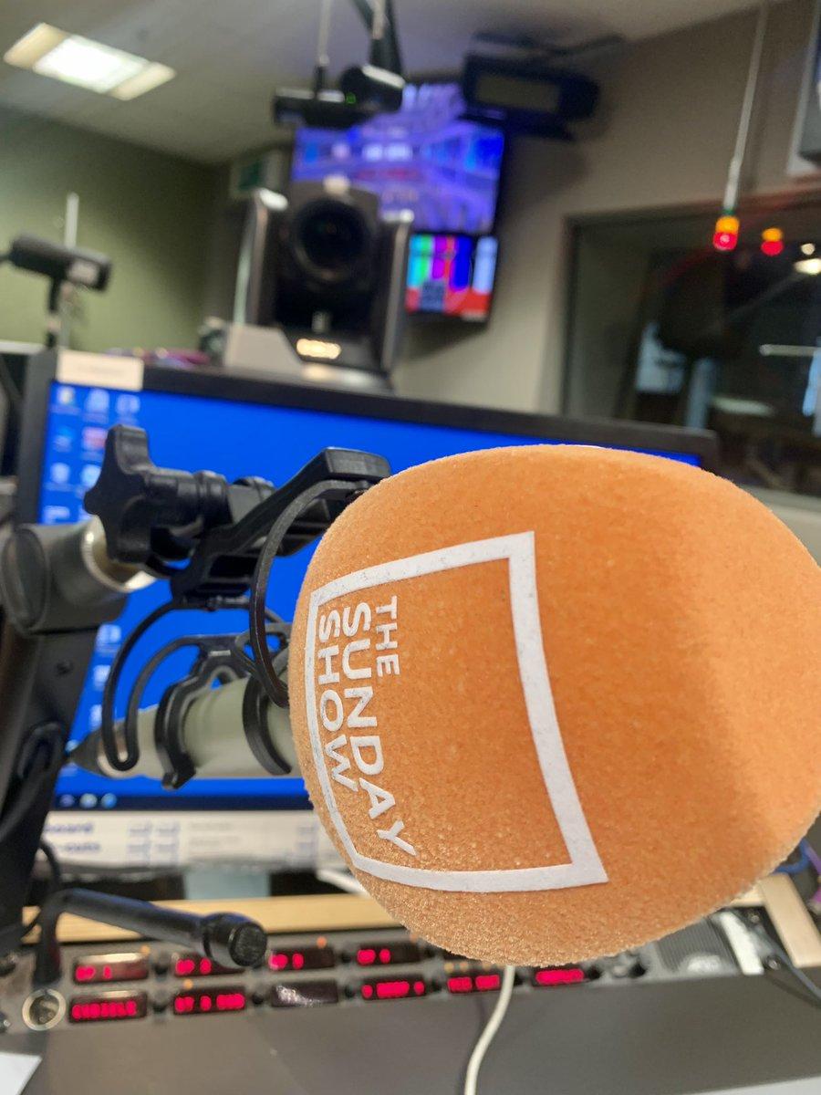 On air at 10 @BBCRadioScot #BBCSundayShow