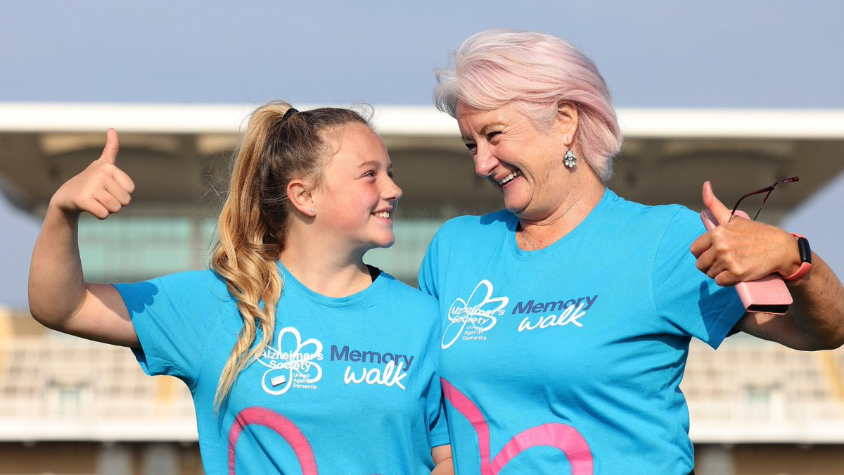 It's #MemoryWalk Day. Good luck to all our walkers, whether you are at Nottingham or taking on your own walk, we're wishing you special memories.