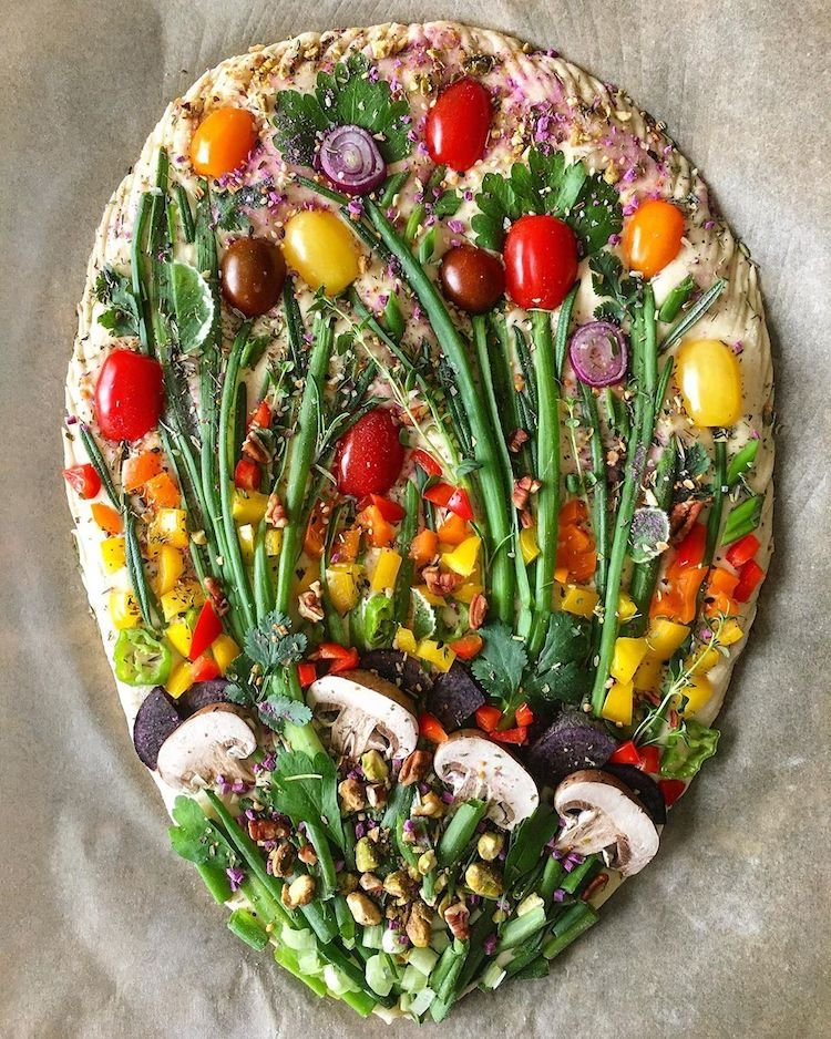 Hannah Page, a baker from the US makes art with bread #WomensArt