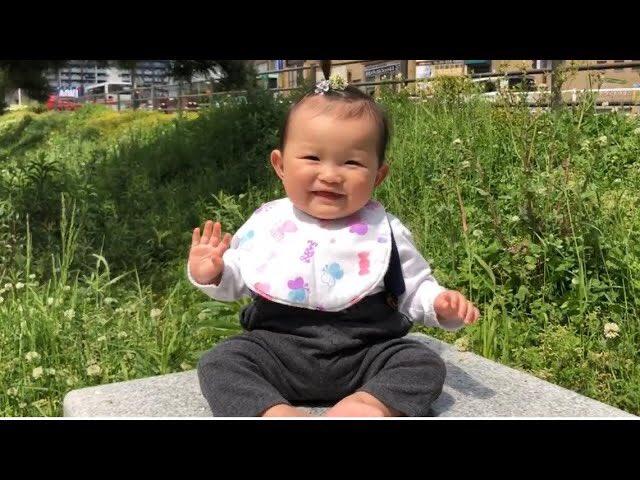 動画公開📺✨(sub channel)  春の原っぱは気持ちいいね🍀シロツメクサの髪飾り🌸0歳10ヶ月 youtu.be/IQqYd8PKsXo  #村方乃々佳 #ののかちゃん #노노카 #nonokamurakata #ののちゃんねる #ののちゃん