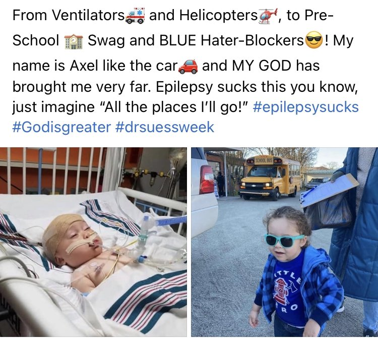 3 year old #HBarbarian Axel is diagnosed with Dravet syndrome a lifelong seizure disorder.  @hbarprice has setup an account with approval from @POX_Hunter to donate to support a little Axel:   0.0.44403  All donations will be sent to @POX_Hunter  Thank you for supporting Axel🙏