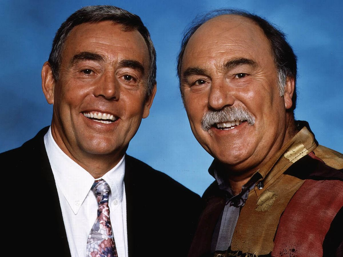 RIP @jimmy_greaves 😢 we hope somewhere, somehow, these two are sharing a chuckle together this morning.