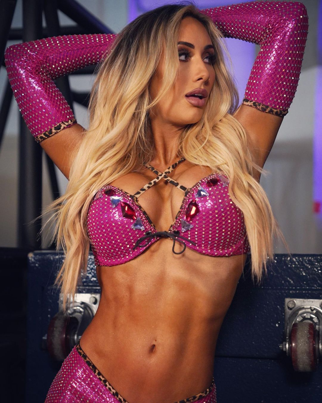 Carmella Shows Off Her Confidence In Latest Hot WWE In-Ring Gear 113