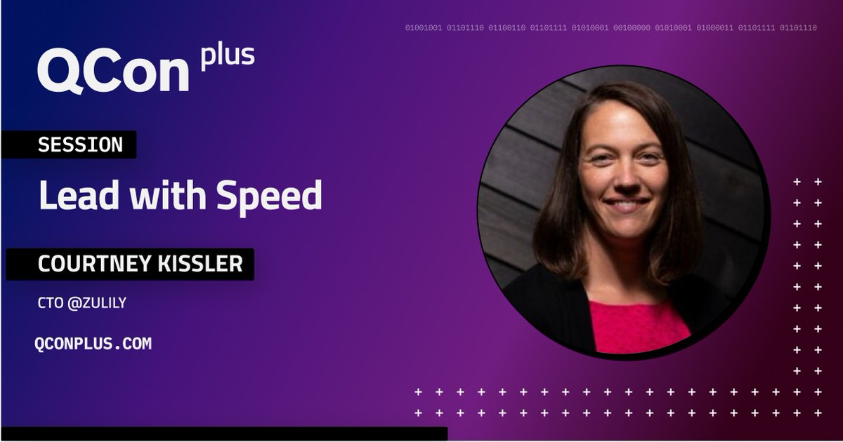 In this talk, I will share concrete examples about being in an organization optimized for cost & efficiency. I will talk about the #leadership mindset shift required and how to still achieve cost and efficiency by leading with speed: bit.ly/3nAVwlN  #QConPlus @chawklady