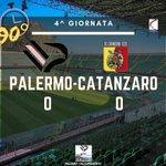 Image for the Tweet beginning: #Finale ✅ PALERMO-CATANZARO 0-0  AI PUNTI