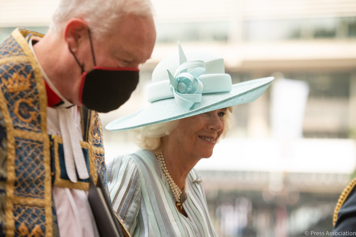 The Prince of Wales and The Duchess of Cornwall are at Westminster Abbey today to attend a service of Thanksgiving and Rededication to commemorate the 81st Anniversary of the Battle of Britain. The Prince has been Patron of the Battle of Britain Fighter Association since 2003.