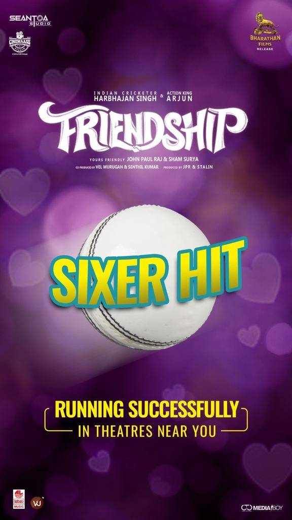 Watch #Friendship With Ur Gang !  #FriendshipSixerHIT  @harbhajan_singh ! @akarjunofficial ! #Losliya ! @actorsathish ! @JPRJOHN1  @Music_UdhayDM ! @JSKfilmcorp ! @LahariMusic  ! @sakthi_vel @RIAZtheboss ! @CtcMediaboy ! https://t.co/bi1gg7lHZk