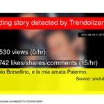 Image for the Tweet beginning: Io, Paolo Borsellino, e la
