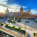 Image for the Tweet beginning: La maestosa Cattedrale di Palermo