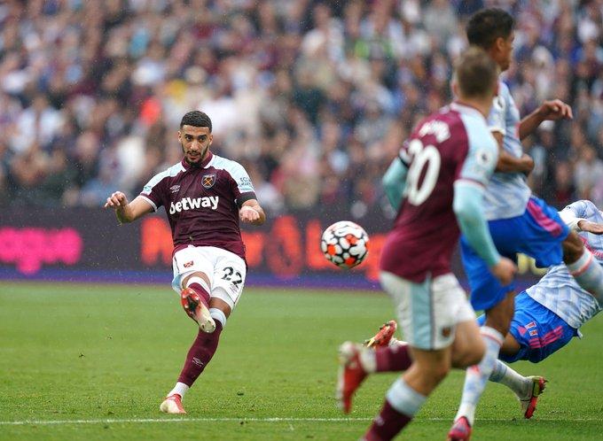 Benrahma mở tỷ số cho West Ham