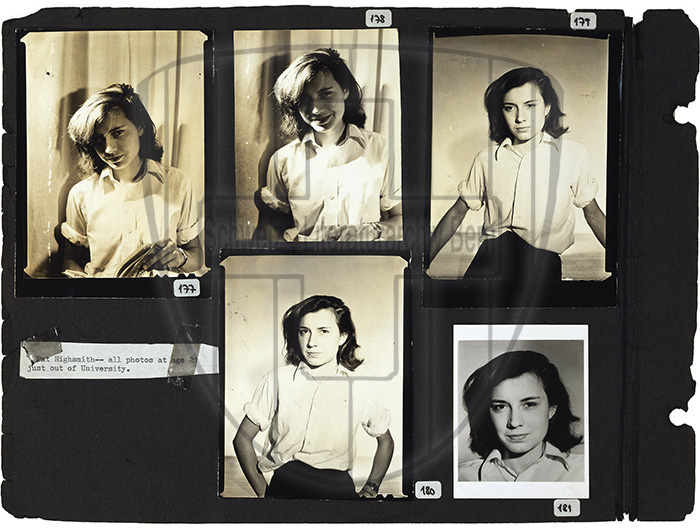 Today's inspo: Young Patricia Highsmith, up to no good. 🔥🔥🖤