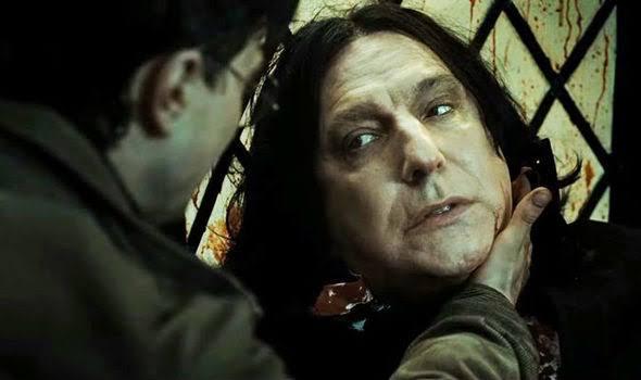 Severus Snape'in ölmeden önce gördüğü son şey, nefret ettiği adamın yüzünde sevdiği kadının gözleri oldu.