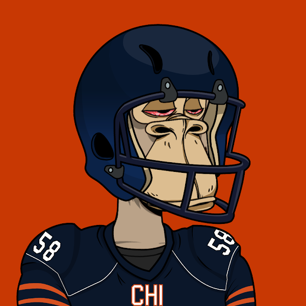 🚨 Defensive Touchdown Alert 🚨 Chicago Bears #58 Roquan Smith just won somebody 1eth this week! Haven't minted yet and you're a football fan?! You're missing out!