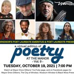 Image for the Tweet beginning: Poetry at the Manor returns