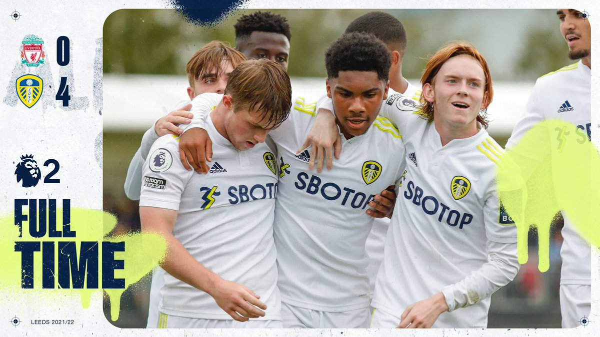 Full Time: A Gelhardt brace and goals from Miller and Struijk gave the #LUFC…