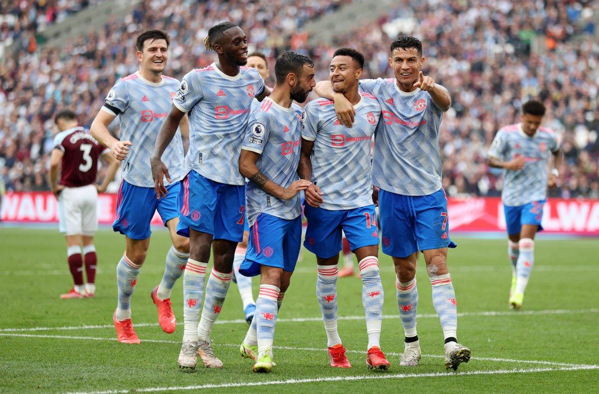 #PremierLeague 5. hafta mücadelesinde Manchester United, West Ham deplasmanından 2-1 galibiyetle çıktı.  ⚽️30' Benrahma ⚽️35' Ronaldo ⚽️89' Lingard ❌90+5' Noble (P)  ▪️ Ronaldo geldi ve #MANUTD'ın havası değişti. 13 puanla Liverpool ile beraber lider.