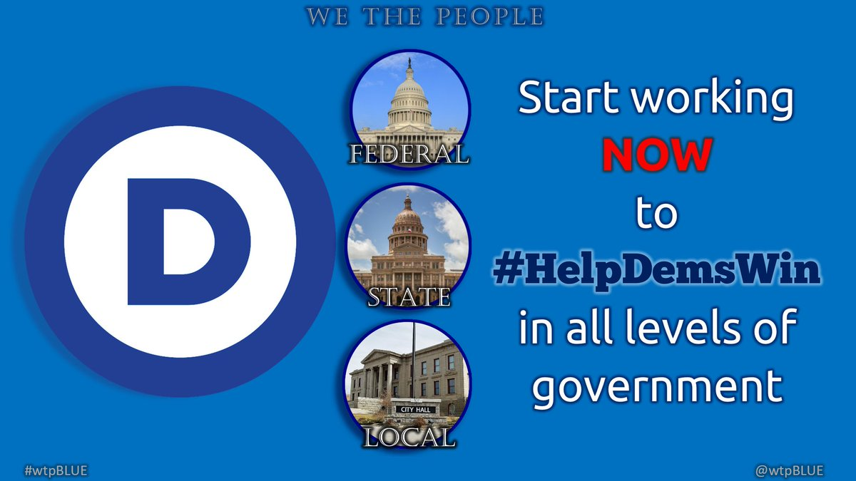The odious reproductive & voting rights rollbacks that we've seen recently don't happen without GOP state legislatures  Make your voice heard in the state rep & senate elections & #HelpDemsWin!  #wtpBLUE @wtpBLUE #wtp1007 https://t.co/RPBfoFpJzl
